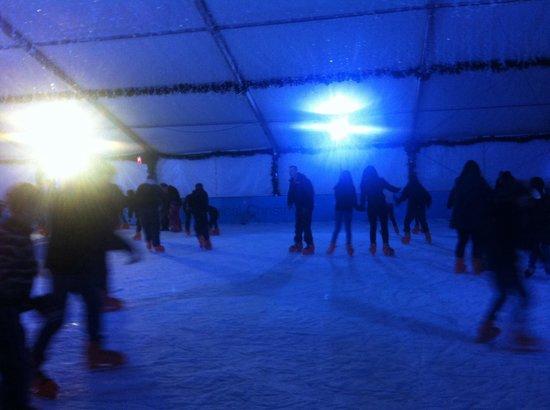 Winter Wonderland: Ice rink