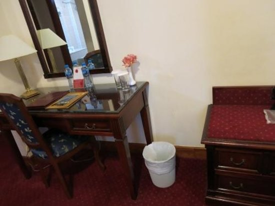 York International Hotel : Stylish furniture