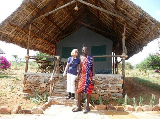 Kiboko Camp: watusso bodyguard