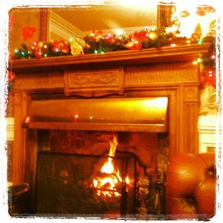 Cuillin Hills Hotel : Lovely fire