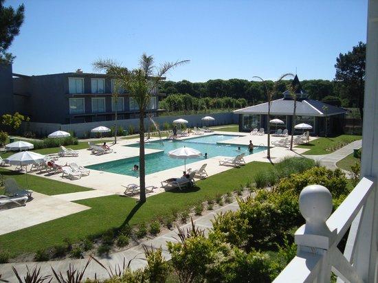 Howard Johnson Hotel and Convention Center Madariaga Carilo: vista desde el cuarto