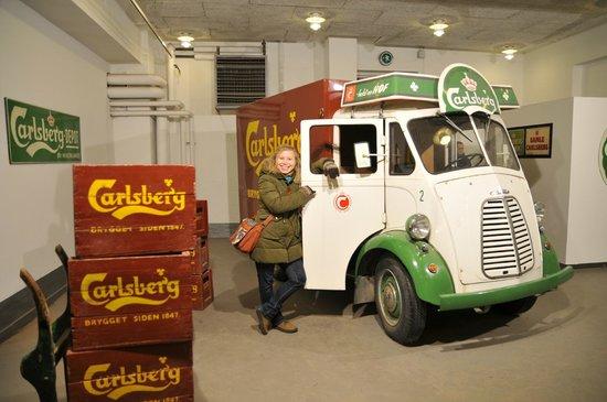 Carlsberg Museum : местный транспорт