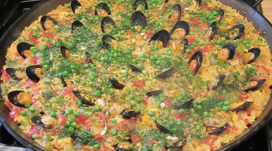 The Village Table: Spanish Paella