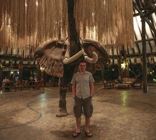 Safari Park Hotel: main lobby