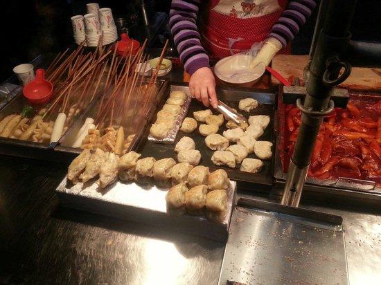Yeongseon uphill street : 餃子?
