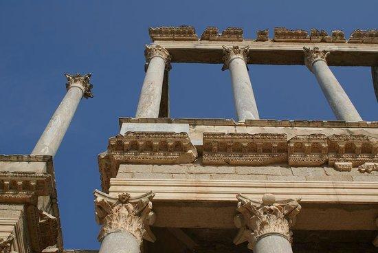 Roman Theater (Teatro Romano): Detalle escenario teatro