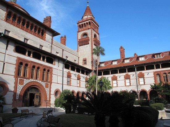 Flagler College, the former Ponce de Leon Hotel
