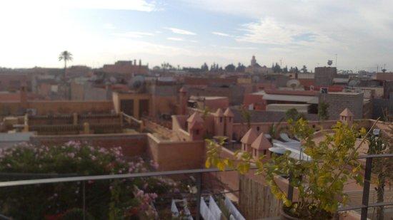 Riad Dar El Aila : vistas desde el riad