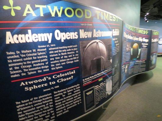 Adler Planetarium: Atwood Sphere.