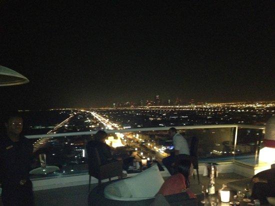 Jumeirah Beach Hotel: View from the Uptown bar
