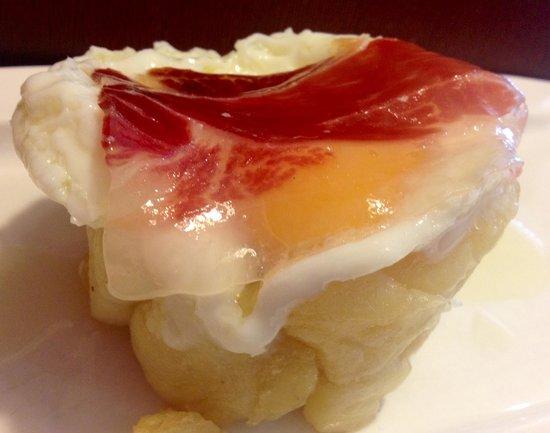 Restaurante Manolo Mayo : Huevos roto con jamón