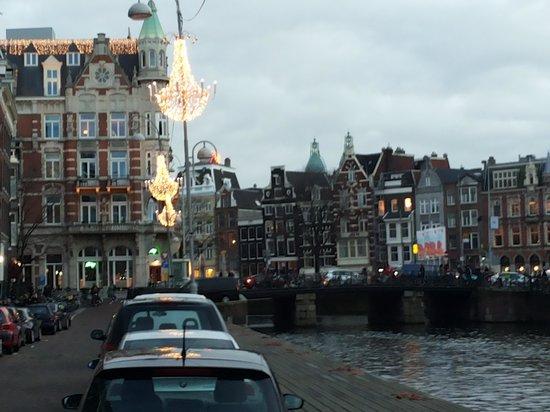 Hampshire Hotel - Eden Amsterdam : veduta canale Amstel