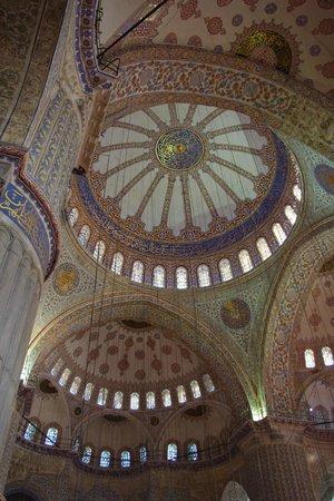 Blaue Moschee (Sultan-Ahmed-Moschee): Interior
