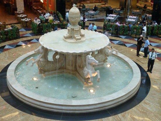Dubai Shopping Centre: Fontaine à Emirates Mall