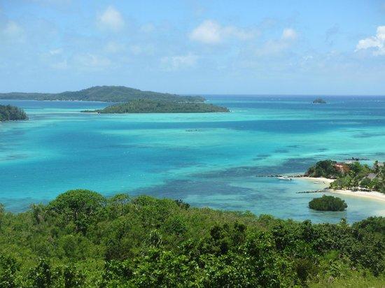 Navutu Stars Fiji Hotel & Resort : Hill View