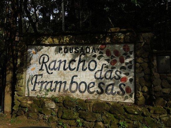 Pousada Rancho Das Framboesas: Entrada