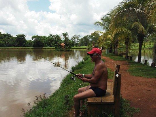 Silvestre Park Hotel Eco Resort : pescaria esportiva