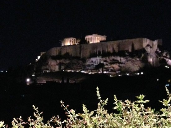 The Athens Gate Hotel : view from restaurant