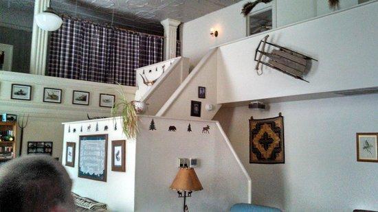 Old Church Inn: Inside upper floor