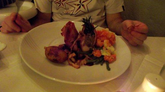 The Dining Room: Stuffed Turkey