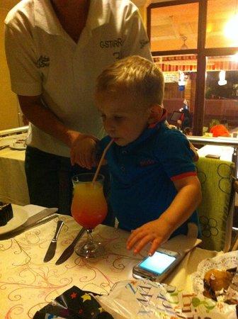 Villa Dream Restaurant: Cocktails for the little ones