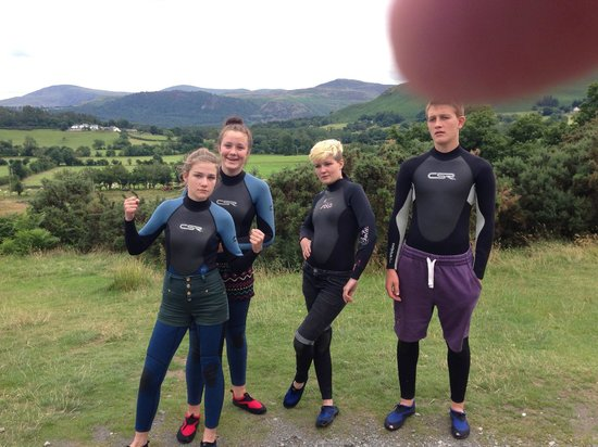 Mobile Adventure - Day Adventures: Looking forward to the cold water