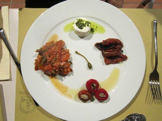 Tambass Teatro & Cucina : antipasto vegetariano
