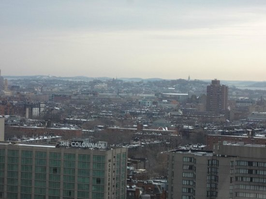 Hilton Boston Back Bay: The view