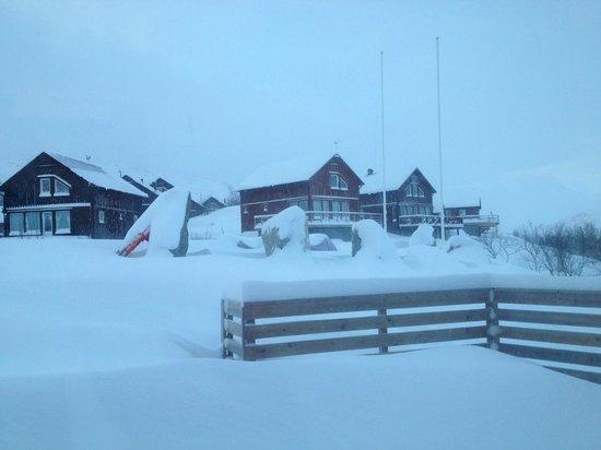 Katterjokk: Exterior of Hotel