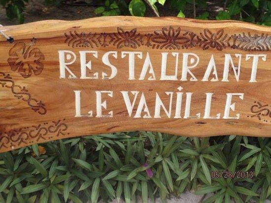 Le Taha'a Island Resort & Spa: Very good restaurant
