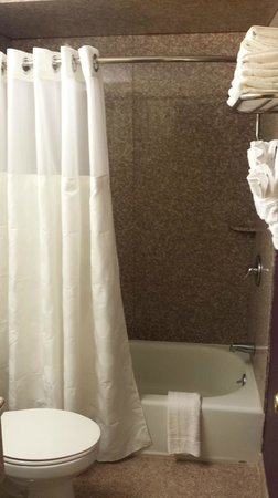Ramada Rockaway : Bathrooms