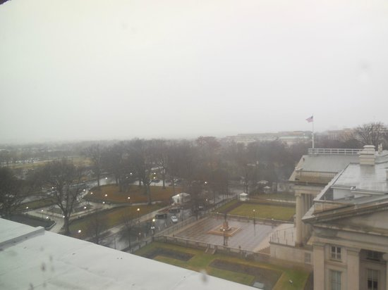 W Washington D.C.: Room 1014 window view