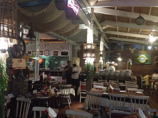 Monduba Restaurante: Vista forno pizza