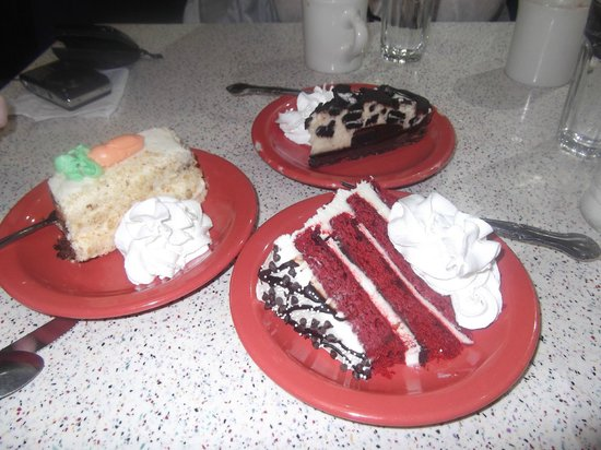 Tick Tock Diner : naughty cakes