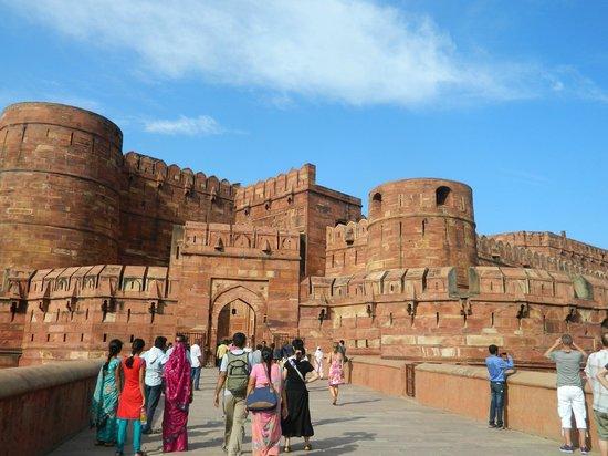 Fuerte de Agra: Agra Fort Entrance