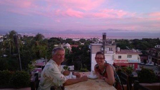 Xocolatl Fajitas Salad & Grill: Amazing View