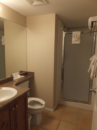 Silver Creek Lodge: Executive 2nd Bathroom