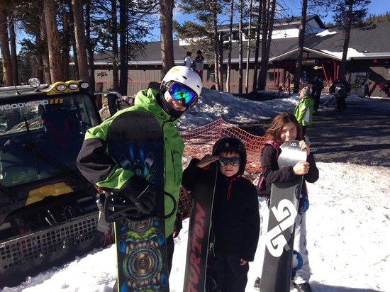 Boreal Mountain Resort: Max with Woodward ski school