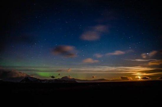 Midgard Adventure: A glimpse of the Northern lights