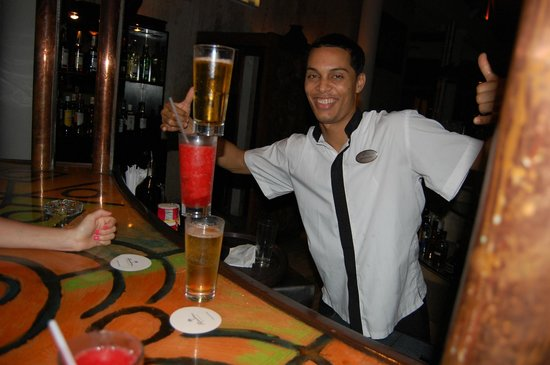 Paradisus Punta Cana : Danny from the lobby bar