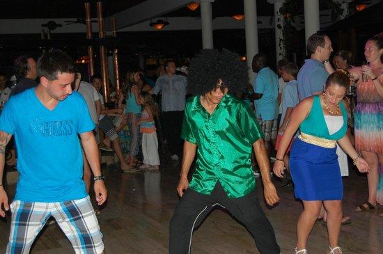 Paradisus Punta Cana Resort: breaking it down in the lobby
