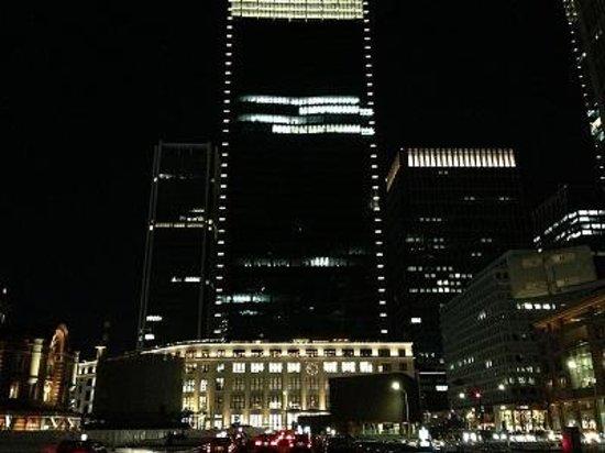 Tokyo Central Railway Station: 東京駅ライトアップ2