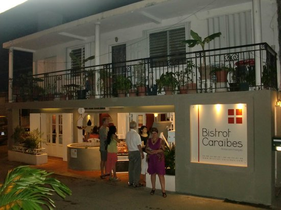 Front of  Bistrot Caraibes