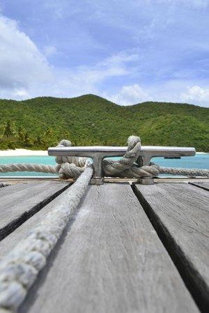 Guana Island: Arriving Guana