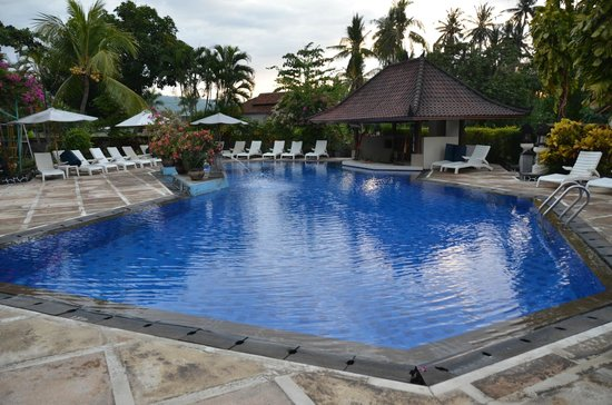 Aneka Lovina Beach Hotel: Swimming pool!