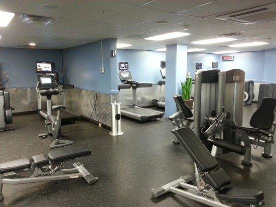 Torrance Marriott Redondo Beach: Fitnessstudio