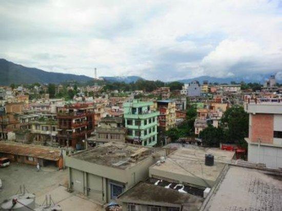 Crowne Plaza Kathmandu-Soaltee: view from room....not so nice