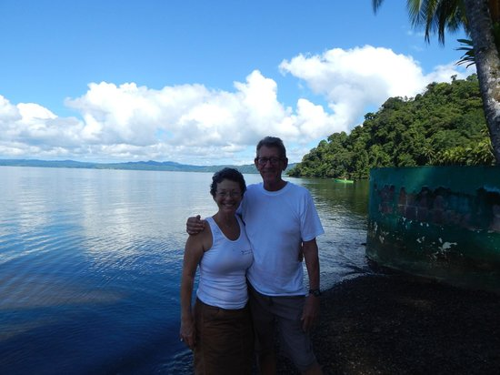 Saladero Eco Lodge: Harvey and Susan