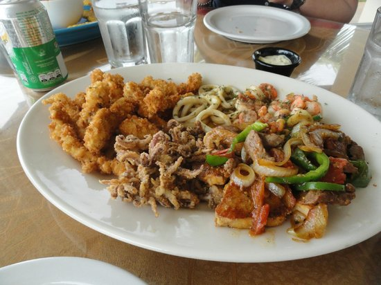 Restaurante Arrecifes: Aperitivo
