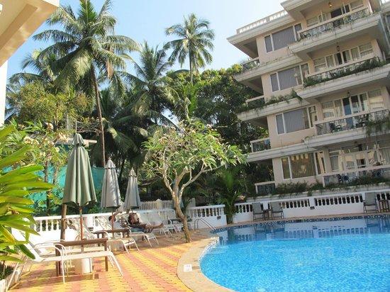 Ocean Palms Goa: Бассейн